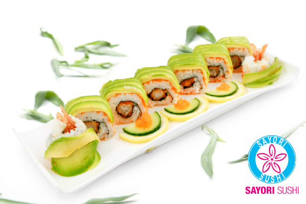 Avocat Roll Tempura crevette cheese